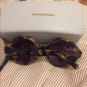 Karen walker sunglasses with case